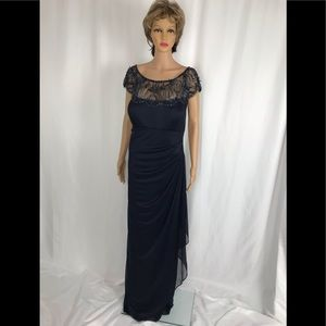 Gorgeous Navy Evening Gown